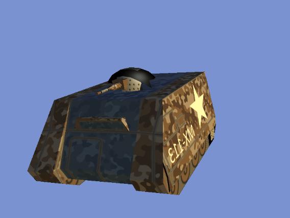 3D model of an APC